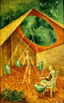 Remedios Varo, Creation with Astral Rays Fine Art Reproduction Oil Painting