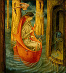 Remedios Varo, Exploration of the Orinoco River Fountains Fine Art Reproduction Oil Painting
