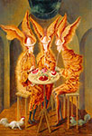 Remedios Varo, Vegetarian Vampires Fine Art Reproduction Oil Painting