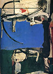 Richard Diebenkorn, Urbana No.2 (The Archer) Fine Art Reproduction Oil Painting