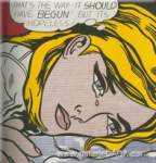Roy Lichtenstein, Hopeless Fine Art Reproduction Oil Painting