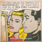 Roy Lichtenstein, Masterpiece Fine Art Reproduction Oil Painting