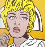 Roy Lichtenstein, Nurse Fine Art Reproduction Oil Painting