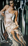 Tamara de Lempicka, Portrait of Mrs Allan Bott Fine Art Reproduction Oil Painting