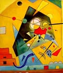 Vasilii Kandinsky, Harmonie Tranquille Fine Art Reproduction Oil Painting