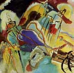 Vasilii Kandinsky, Improvisation 30 (Cannons) Fine Art Reproduction Oil Painting