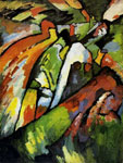 Vasilii Kandinsky, Improvisation 7 Fine Art Reproduction Oil Painting
