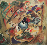 Vasilii Kandinsky, Improvisation. Dreamy Fine Art Reproduction Oil Painting