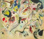 Vasilii Kandinsky, Sketch 160A Fine Art Reproduction Oil Painting