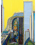 Wayne Thiebaud, Morning Freeway Fine Art Reproduction Oil Painting