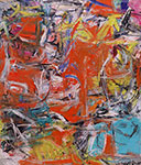 Willem De Kooning, Composition Fine Art Reproduction Oil Painting