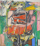 Willem De Kooning, Woman VI Fine Art Reproduction Oil Painting